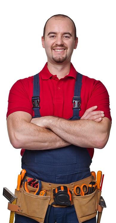 Comfort Gallery air Conditioner worker